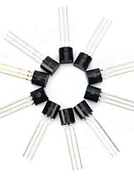 Недорогие -30V NPN Триод Мощность транзистор пакет Транзистор - черный (10 шт)
