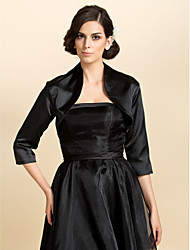 Satin Wedding Party Evening Casual Office & Career Wedding  Wraps Coats / Jackets