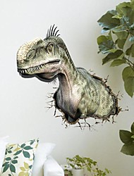 3D The Dinosaur Wall Stickers Vægoverføringsbilleder