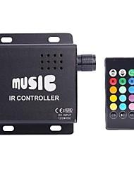 Недорогие -z®zdm DC12-24V общий анод ИК две полосы 24key RGB светодиодные полосы пульт дистанционного управления (не может подключить аудио)