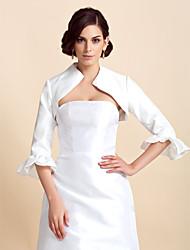 cheap -Taffeta Wedding Wedding  Wraps With Ruffles Coats / Jackets