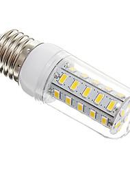 E26/E27 LED Mais-Birnen T 36 Leds SMD 5730 Warmes Weiß 650lm 3000-3500K AC 220-240V