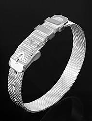 Недорогие -симпатичный латунный серебристый браслет браслет классический женственный стиль