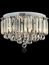cheap -Flush Mount Ambient Light - Crystal, LED, 220V Bulb Not Included / 10-15㎡ / E12 / E14