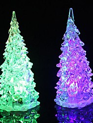 Coway Crystal Christmas Tree Light Colorful LED  Night Light  Small Tree Lamp
