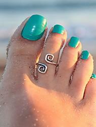 economico -Anello del dito del piede Originale, Di tendenza Per donna Argento Gioielli per corpo Per Regali di Natale / Quotidiano / Casual