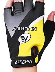 cheap -Nuckily Sports Gloves Bike Gloves / Cycling Gloves Wearable / Breathable / Wearproof Fingerless Gloves Silicone / Lycra Cycling / Bike Men's / Unisex