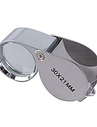 cheap -30x21mm Jewelers Magnifier