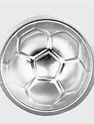 Недорогие -3d футбольная форма торт плесень aluminumball сфера нетоксичный торт плесень шоколадная форма плесень кухня выпечки инструменты