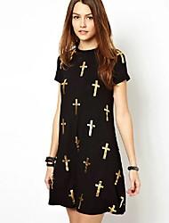 vestito pattren croce delle donne monaier