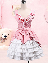 cheap -Sweet Lolita Dress Princess Women's JSK / Jumper Skirt Cosplay Sleeveless