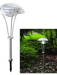 cheap -3-LED Solar Power White Outdoor Garden Pathway Landscape Night Light