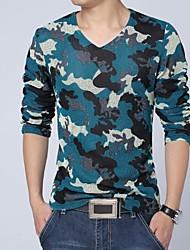 abordables -Hombres Casual manga larga T-shirt
