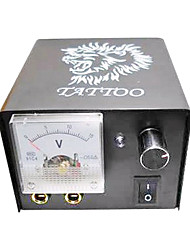 abordables -Iron Tattoo Power Supply with Lion Head Pattern