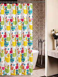 Modern Polyester with High Quality Shower Curtains
