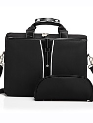 """Coolbell Commercial 15.4"""" Laptop Bag Shockproof Notebook Bag One Shoulder Handbag Travel Bag"""