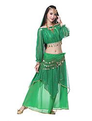 cheap -Belly Dance Outfits Women's Performance Silk