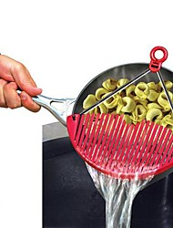 cheap -Better Strainer Expandable Pot Just Lock on Strain for Vegetables Pasta