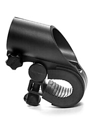 360 Degree Rotating Black Clip Holder For Bicycle Lights