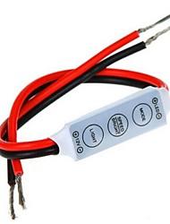 cheap -Mini Dimmer Controller 3 Keys for 5050 3528 Single Color LED Strip Light (12V 6A)