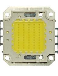 JIAWEN® 50W 4000-4500LM 6000K Cold White LED Chip (DC 30-33V)