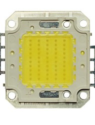 jiawen® 50w 6000k 4000-4500lm kalten weißen LED-Chip (dc 30-33v)