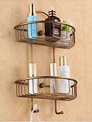 cheap -Bathroom Shelf Antique Brass 1 pc - Hotel bath