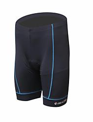 cheap -Men's Bike Shorts Quick Dry, Breathable Spandex, Polyamide Black / Blue Bike Wear