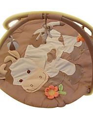 Недорогие -мягкая ползком играть мат мило корова ковер детский