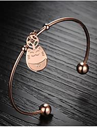 z&moda X® totoro fortunato 18 k oro mosaico ha placcato il braccialetto