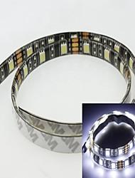 billige -1m 5730 / 5630smd 60LED kølig hvid 15w 7500-9000k 900-1000lm DC12V IP65 vandtæt LED strip