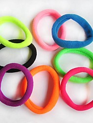 (6pc) d'épaisseur élevée plus la couleur corde de cheveux durable élastique (couleur aléatoire)