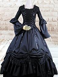 cheap -Gothic Lolita Dress Lolita Women's Dress Cosplay Long Sleeve Long Length Halloween Costumes