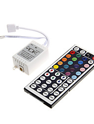 Z®ZDM 6A 72W IR 48-key RGB LED Remote Controller for RGB LED Light Strip (DC12V)