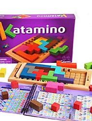 Недорогие -деревянные яркие волшебные блок игрушки