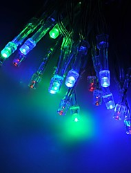 cheap -2M Long LED String Of Lights For Christmas Decoration In Blue Red Green Yellow