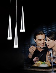 cheap -UMEI™ 3-Light Pendant Light Downlight - LED, 90-240V, Warm White / White, Bulb Included / 5-10㎡ / LED Integrated
