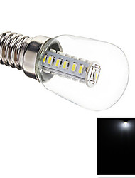 cheap -3W E14 LED Corn Lights T 25 SMD 3014 180-210 lm Cool White Decorative AC 220-240 V