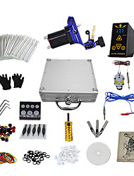 cheap -1 Gun Complete No Ink Tattoo Kit with Alloy Motor Tattoo Machine and Hp-2 Power Supply