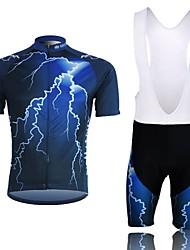 billige -XINTOWN® Cykeltrøje og shorts Herre Kort Ærme Cykel Åndbart / Komprimering / letvægtsmateriale Tøjsæt/Jakkesæt TeryleneForår / Efterår /