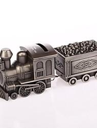 Недорогие -персонализированные кольцо на предъявителя сплава Эшбери металла железнодорожного копилку