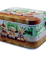 Недорогие -Медведь Pattern металла хранения музыкальная шкатулка игрушки