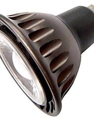 cheap -3W GU10 LED Spotlight MR16 1 COB 240 lm Warm White Decorative AC 85-265 V