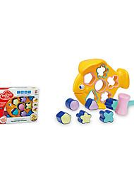 Недорогие -рыба форма дети Buliding блоки игрушки