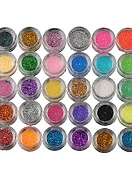 cheap Makeup For Eyes-30pcs Eye Shadow Powder Party Makeup Daily