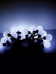 cheap -5M 20 LEDs Christmas Halloween decorative lights festive strip lights-Large white ball lights (220V)