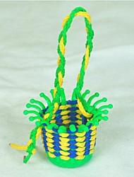 Недорогие -поделок детей на охрану окружающей среды плетеные корзины пластиковые строительные блоки