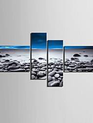 abordables -toile set Paysage Moderne,Quatre Panneaux Verticale Imprimer Art Décoration murale For Décoration d'intérieur