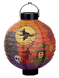 Fun Halloween Pumpkin Paper Bar Lantern Home Party Decorations