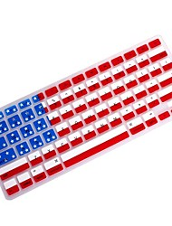 "cheap -Coosbo® USA Flag Silicone Keyboard Cover Skin for 11.6"",13.3"",15.4"",17"" Macbook Air Pro/Retina"